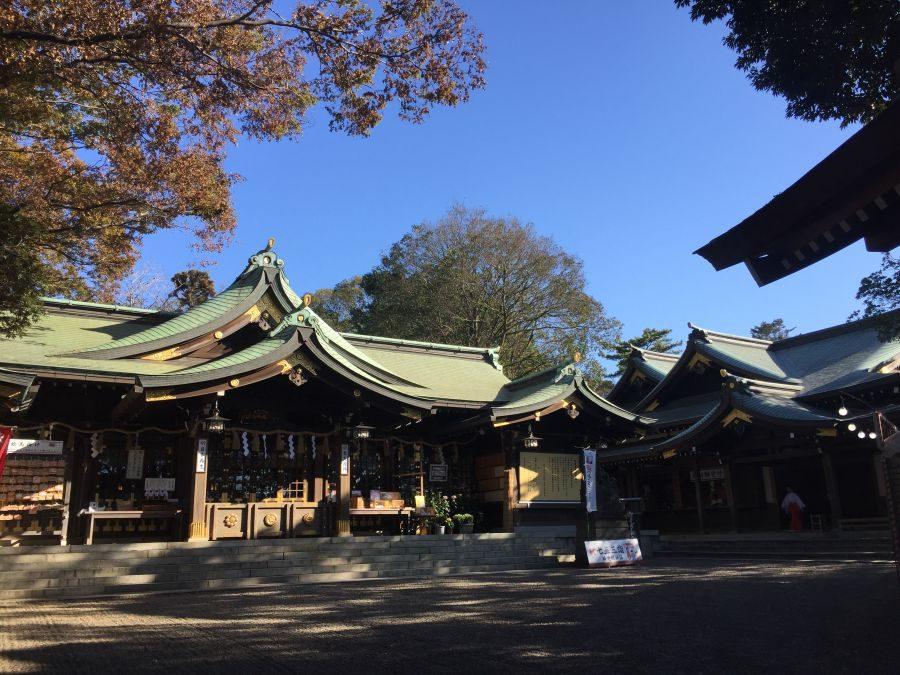新検見川の『検見川神社』に参拝してきました。