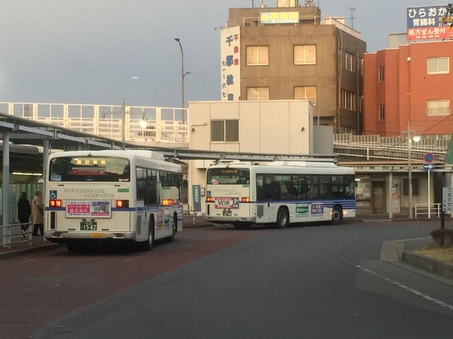 千葉海浜交通バスの車内放送でクリニックの案内を始めました